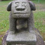 盛岡天満宮の狛犬がユニーク